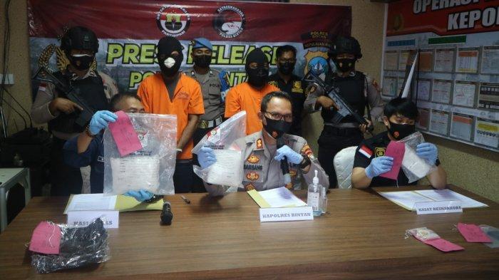 Polres Bintan Kejar Buronan Kasus Narkoba Hingga NTB, 2 Tersangka Terancam Hukuman Mati