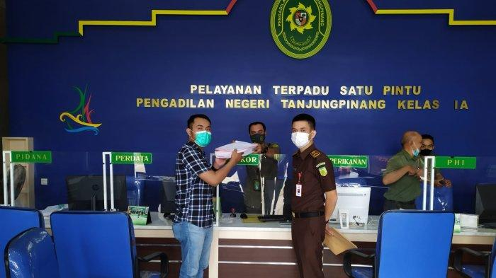 Perkara Korupsi Dana APBDes Tanjung Pelanduk Dilimpahkan Ke PN Tanjungpinang