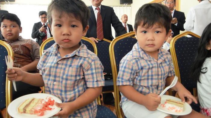 Si Kembar 17 Agustusan di KBRI Pyongyang
