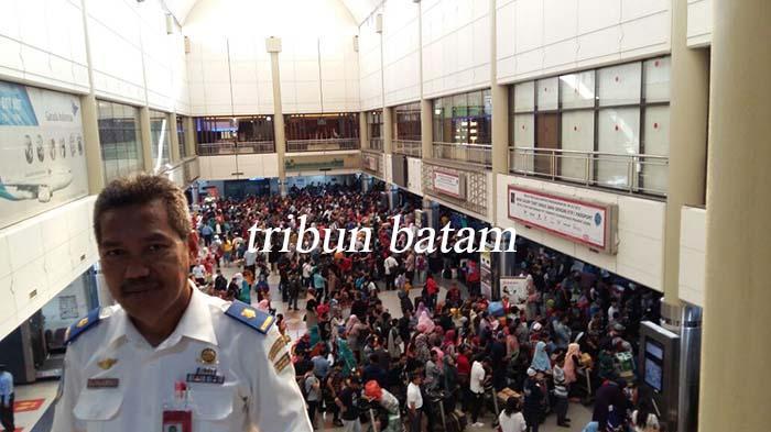 Arus Penumpang di Bandara Hang Nadim Sudah Kembali Normal