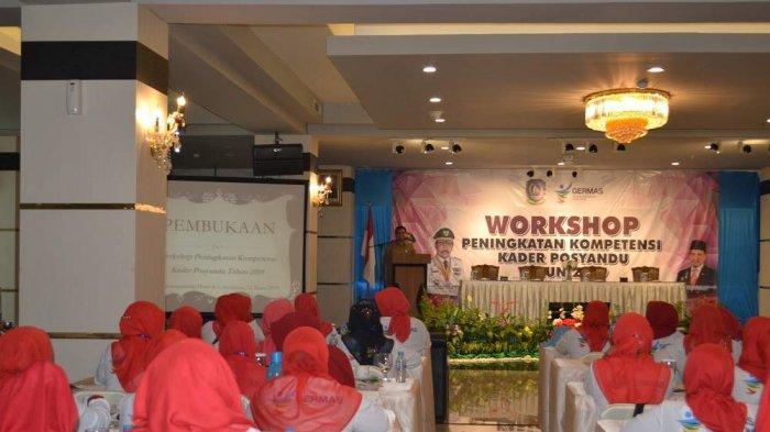 Workshop Peningkatan Kompetensi Kader Posyandu Kepri di Tanjungpinang