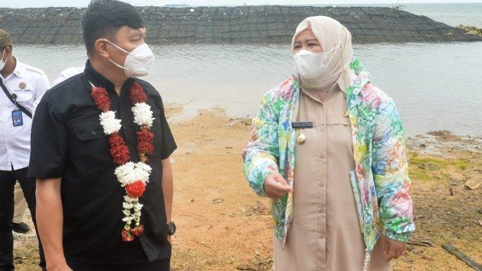 Wagub Kepri Marlin dan Wamen Surya Tjandra Kunjungi Pulau Pelampong