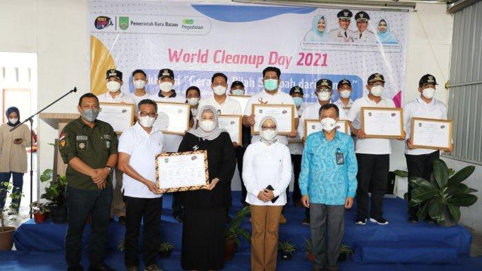 Wagub Kepri Dukung Gerakan Pilah Sampah dari Rumah, Peringatan World Cleanup Day