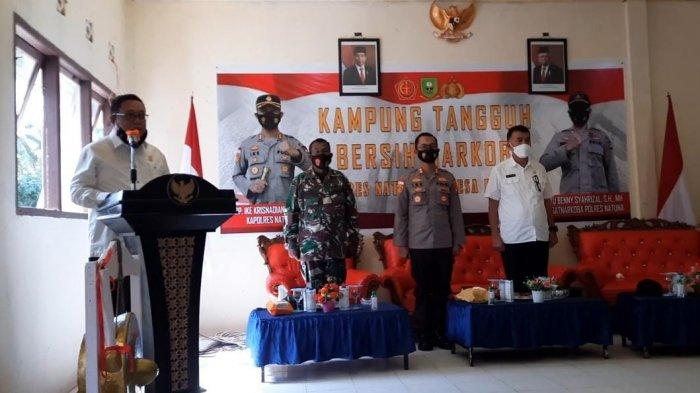Ketua DPRD Daeng Amhar Dukung Kampung Tangguh Bersih Narkoba Polres Natuna
