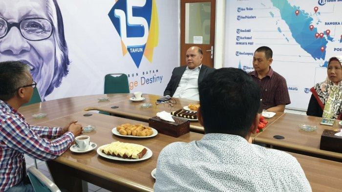 Kadin Batam Bicara Pertumbuhan Ekonomi Hingga Pariwisata di Kantor Tribun Batam