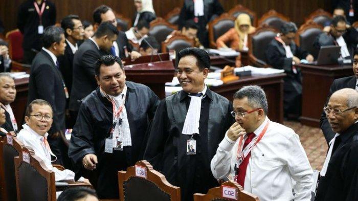 Hari Ini Sidang Lanjutan Sengketa Pilpres 2019, Ini Rencana Tim Kuasa Hukum Jokowi-Ma'ruf Amin