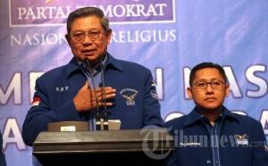 SBY Terpilih Aklamasi Sebagai Ketua Umum Partai Demokrat