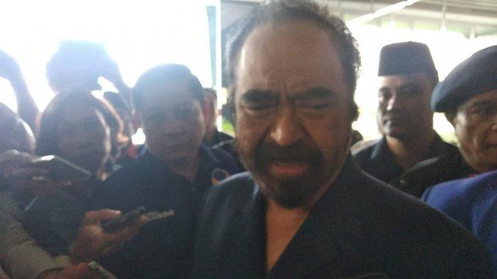 Surya Paloh Ungkap 'Nasib' Ketua DPW Partai Nasdem Kepri, Maju Gubernur Atau Walikota?