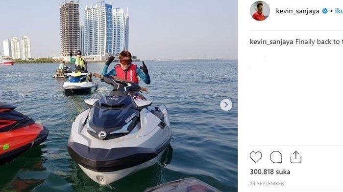 Marcus/Kevin Sanjaya Juara Hongkong Open 2018, Hobi Kevin dari Jetski hingga Fesyen