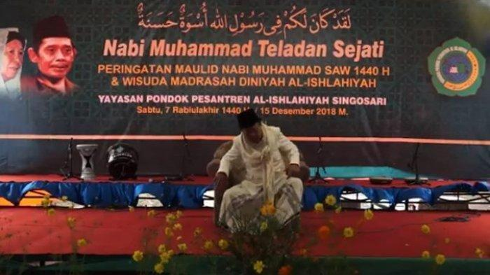 Ilustrasi - KH Buchori Amin wafat saat ceramah Maulid nabio SAW di Malang, Jawa Timur