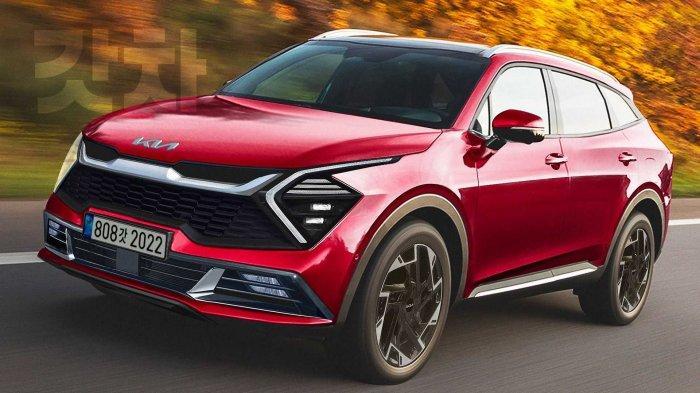 Kia Sportage 2022 Tampil Futuristik, Bisa Jadi Pesaing Honda CR-V