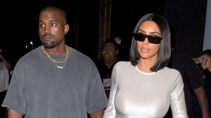 Kim Kardashian dan Kanye West Dikabarkan Pisah Ranjang, Frustrasi Melihat Kelakuan Suami