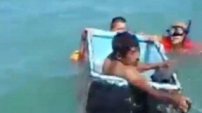 Kisah Dua Nelayan yang Selamat Berkat Sebuah Kulkas, Kapal yang Ditumpanginya Tenggelam