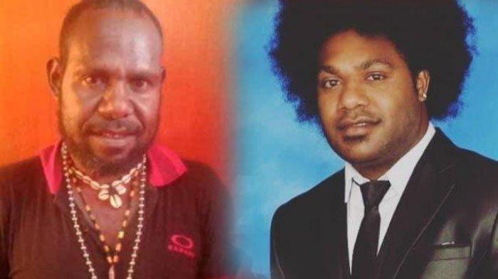 KKB PAPUA - Sonny Wanimbo diduga danai KKB Papua usai Neson Murib buka suara. FOTO: KOLASE NESON (KIRI), SONNY (KANAN)