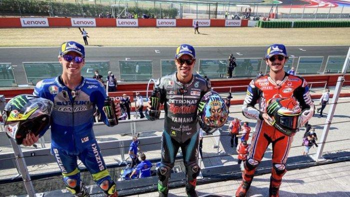 Klasemen MotoGP 2020 Setelah Morbidelli Juara GP San Marino, Dovizioso Geser Quartararo