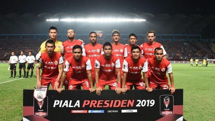 Jadwal Babak 8 Besar Piala Presiden 2019, Pemain Baru Persija Jakarta Jelang Lawan Kalteng Putra