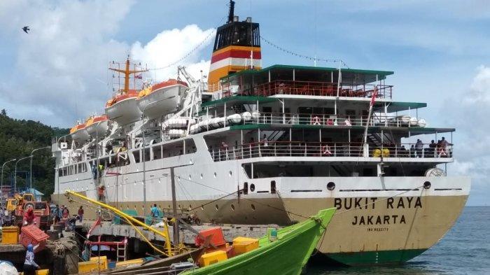 Jadwal Kapal Pelni KM Bukit Raya Selama Agustus 2021