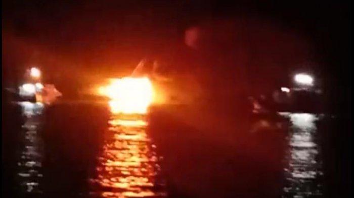Ditinggal Dalam Keadaaan Terkunci, KM Kecapi Angkut Bubu Terbakar di Desa Kelong Bintan