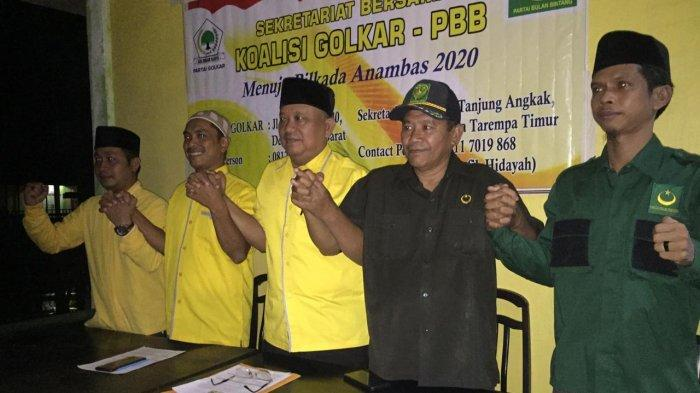 Mantan Bupati Anambas, Tengku Mukhtaruddin Daftar Jadi Bupati ke Koalisi Golkar-PBB