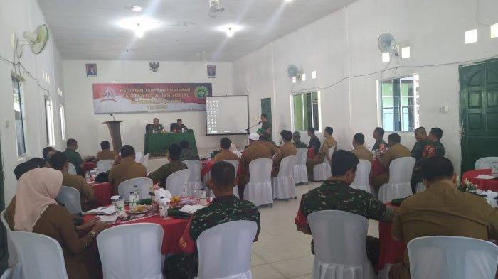 Tim TNI AD Kunjungi Kodim 0317/TBK, Kumpulkan Data Karimun Secara Menyeluruh
