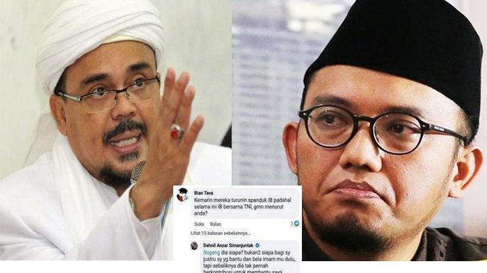 Diserang Pendukung Rizieq Shihab di Medsos, Dahnil Cs Lupa Budi Baik Rizieq Cs Saat Pilpres 2019?