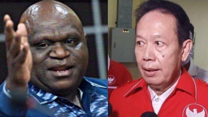 SIAPA SEBENARNYA Ambroncius Nababan yang Dijemput Paksa Polisi, Rasis ke Tokoh Papua Natalius Pigai
