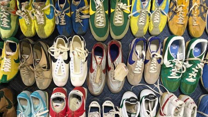KEREN, Hotel di Amerika Ini Pamer 40 Pasang Lebih Sepatu Vintage Nike