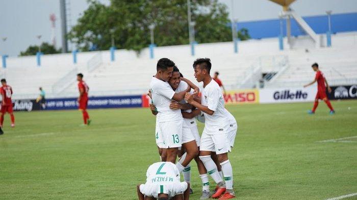 PIALA AFF U15 2019 - Komentar Pelatih Bima Sakti Usai Indonesia Menang Telak atas Vietnam