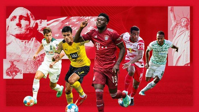 Jadwal Bundesliga Liga Jerman 2021-2020 Jumat: Gladbach vs Munchen, Sabtu: Dortmund vs Frankfurt