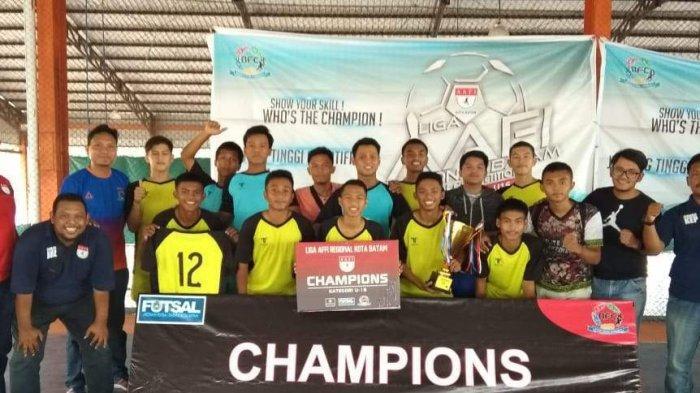 Kompetisi Liga Futsal AAFI, Ini Pemenang untuk Kategori  U-13 dan U-16