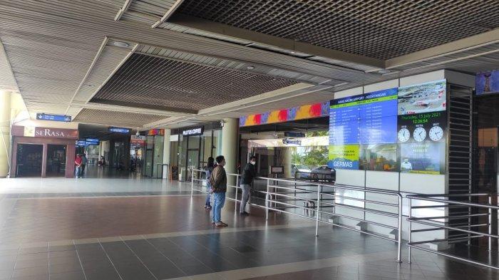 Efek PPKM Darurat Batam, Jumlah Penumpang Bandara Hang Nadim Anjlok