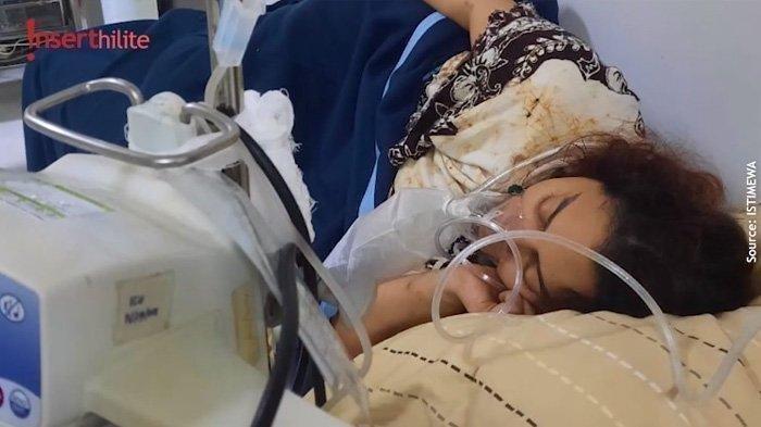 Kondisi Jane Shalimar saat dirawat