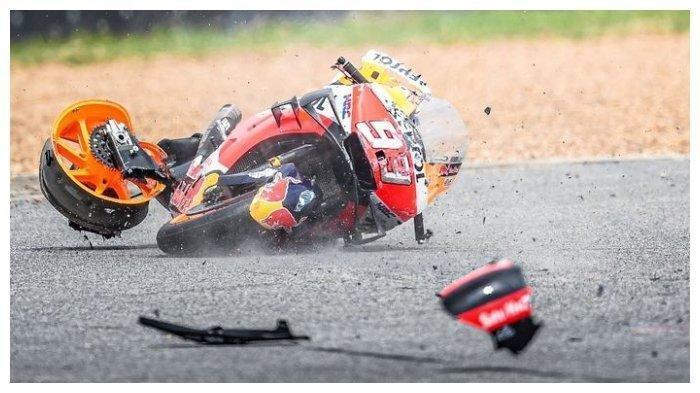 Kondisi Marc Marquez Usai Kecelakaan di MotoGP Thailand 2019: Seluruh Tubuh Saya Memar