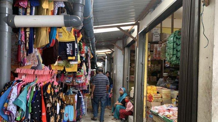 PASAR INPRES - Kondisi Pasar Inpres, Kelurahan Tarempa, Kecamatan Siantan, Kabupaten Kepulauan Anambas, Provinsi Kepri, Rabu (4/11/2020).