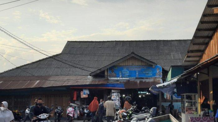 Kondisi Pasar Ranai, Kabupaten Natuna, Provinsi Kepri, Selasa (10/8/2021). Sejumlah pedagang mengeluhkan PPKM yang berlangsung selama hampir dua bulan lamanya.