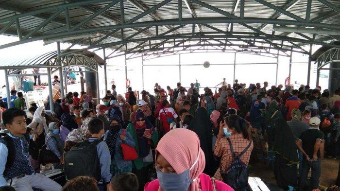 29.432 Orang Keluar Batam Selama April 2021 dari Pelabuhan Sekupang, Awal Mei Sehari Tembus 2.000