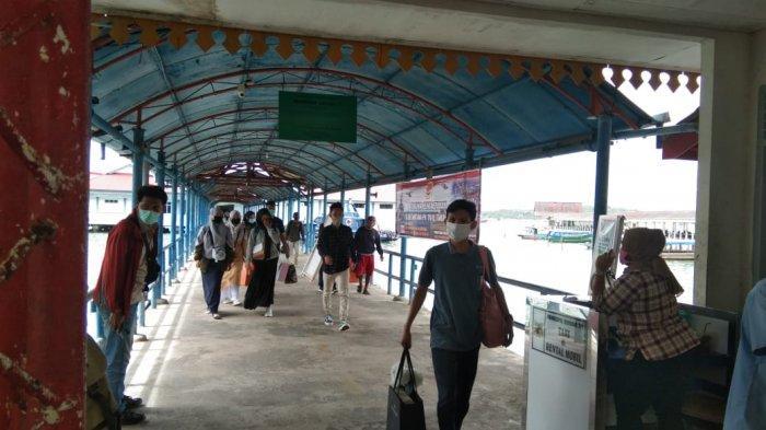 JADWAL Kapal di Pelabuhan Sri Bintan Pura Tanjungpinang Hari Ini Senin 8 Februari 2021. Foto kondisi Pelabuhan Sri Bintan Pura Tanjungpinang, Senin (8/2/2021).