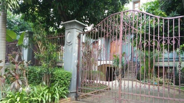 Kondisi Rumah Diduga Kediaman Habil Marati, Pasca Penetapan Tersangka Kasus Kerusuhan 21-22 Mei