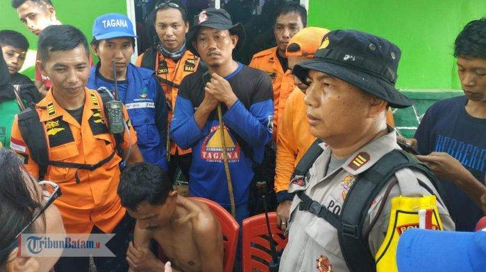 Dilaporkan Hilang di hutan Lindung Tanjungpinang, Saul Ucok Akhirnya Ditemukan Tim SAR Gabungan
