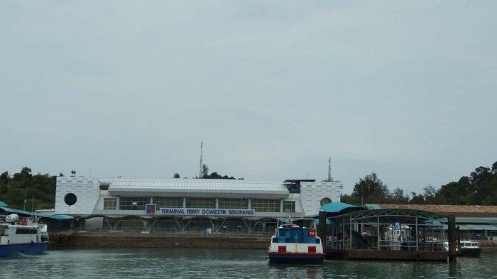 JADWAL Kapal Ferry Batam di Pelabuhan Domestik Sekupang Hari Ini Minggu 7 Maret 2021. Foto kondisi Pelabuhan Domestik Sekupang, Batam, Provinsi Kepri, Minggu (7/3/2021).