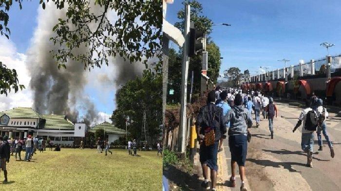 UPDATE! Kondisi Terkini Kerusuhan di Wamena Papua, Aparat Siaga, 16 Warga Tewas & 65 Terluka