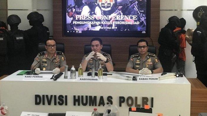 Ini Langkah Pengamanan Polri pada 22 Mei,Suasana Panas Jelang Pengumuman Hasil Pemilu 2019