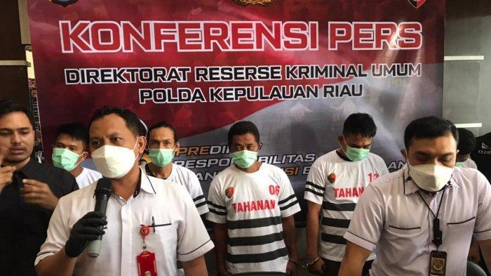 Polda Kepri Ungkap 5 Tersangka Pengiriman TKI Ilegal di Bintan