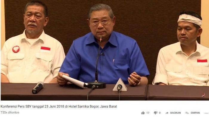 Ini Video Pidato SBY yang Dijadikan Bukti Tim Hukum BPN dalam Gugatan Hasil Pilpres 2019 ke MK
