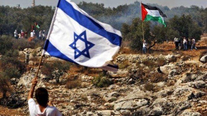 Ilustrasi Israel dan Palestina
