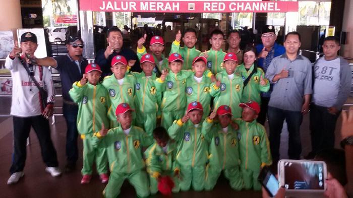KONI Kepri Lepas SSB Tanjunguma ke Aqua Danone Nations Cup 2015