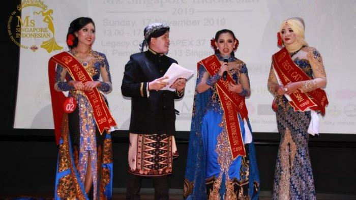 Digelar Sejak 2016, Intip Keseruan Para TKI Berkompetisi di Miss Singapore Indonesia