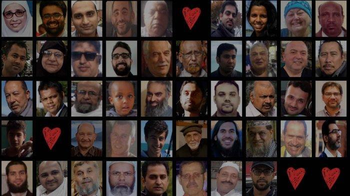 Foto PM Selandia Baru Berkerudung Peluk Keluarga Korban Teror Dipasang di Dinding Burj Khalifa Dubai
