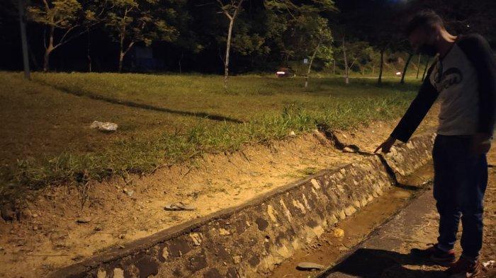 BREAKINGNEWS, Korban Tabrak Lari Ditemukan Tewas Dalam Parit
