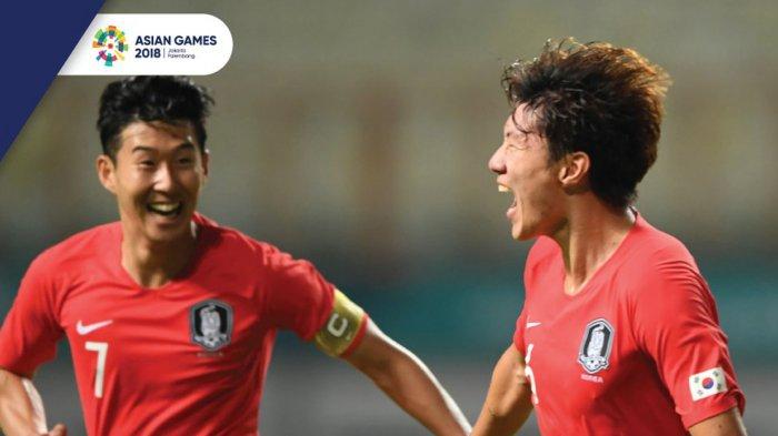 Hasil Final Sepakbola Asian Games 2018 Korsel vs Jepang - Kalahkan Jepang, Korsel Pertahankan Emas